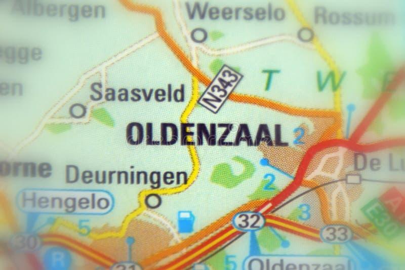 Oldenzaal, eine Stadt in den Niederlanden lizenzfreies stockfoto