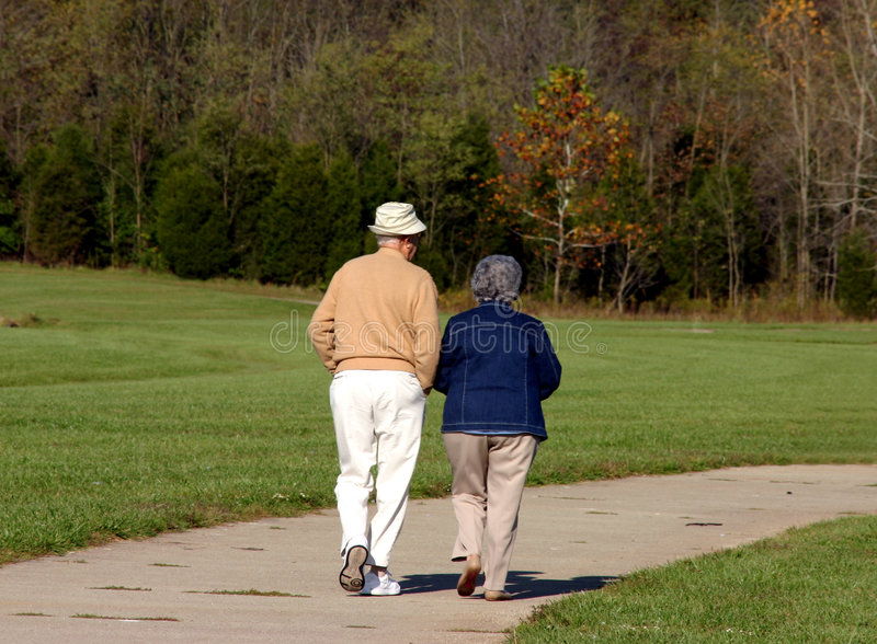 Older couple stock images