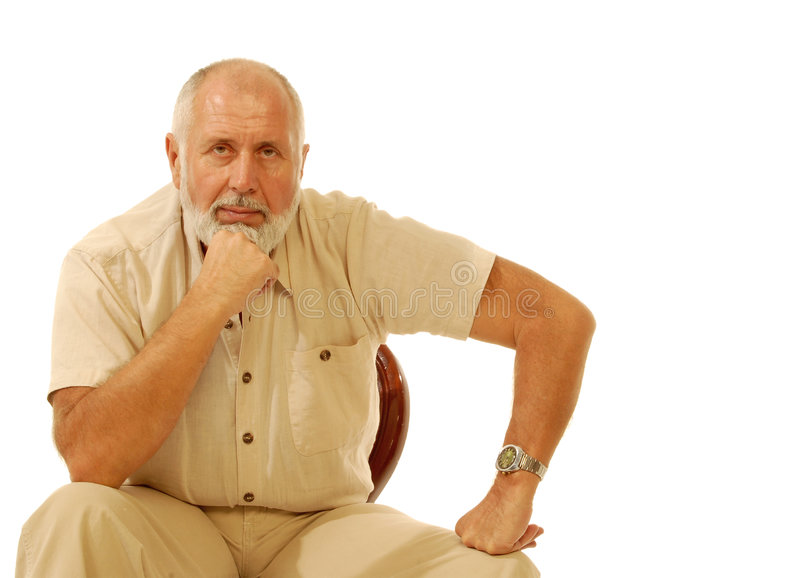 Older gentleman stock photos