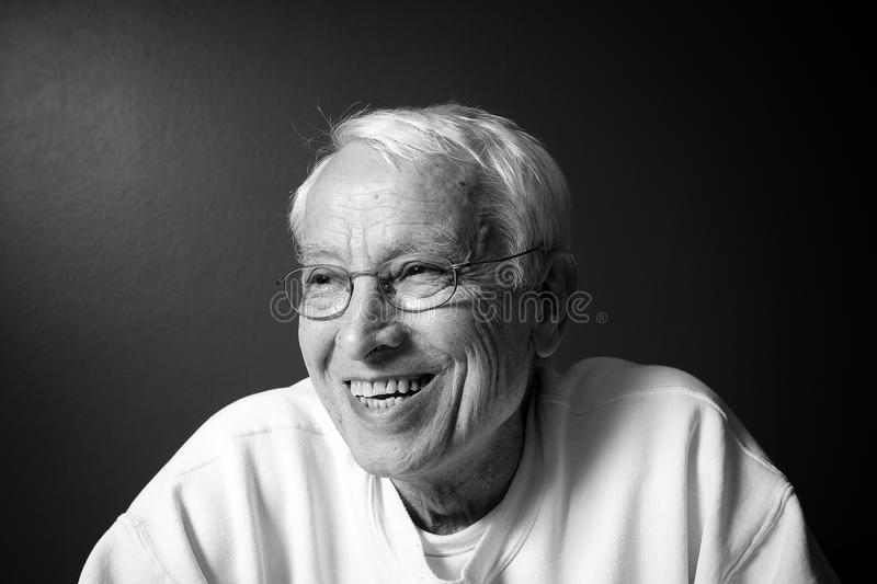 Download Older man smiling stock photo. Image of funny, sincere - 21342438