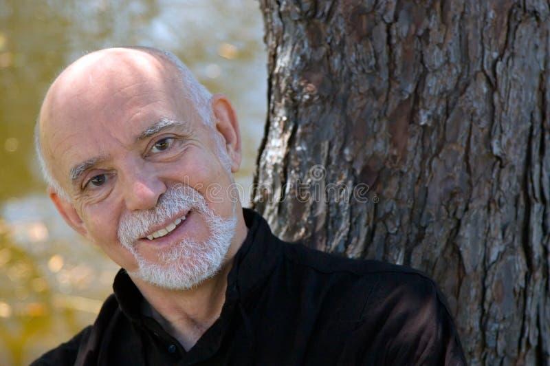 Download Older man smiling stock image. Image of serious, adult - 2413797
