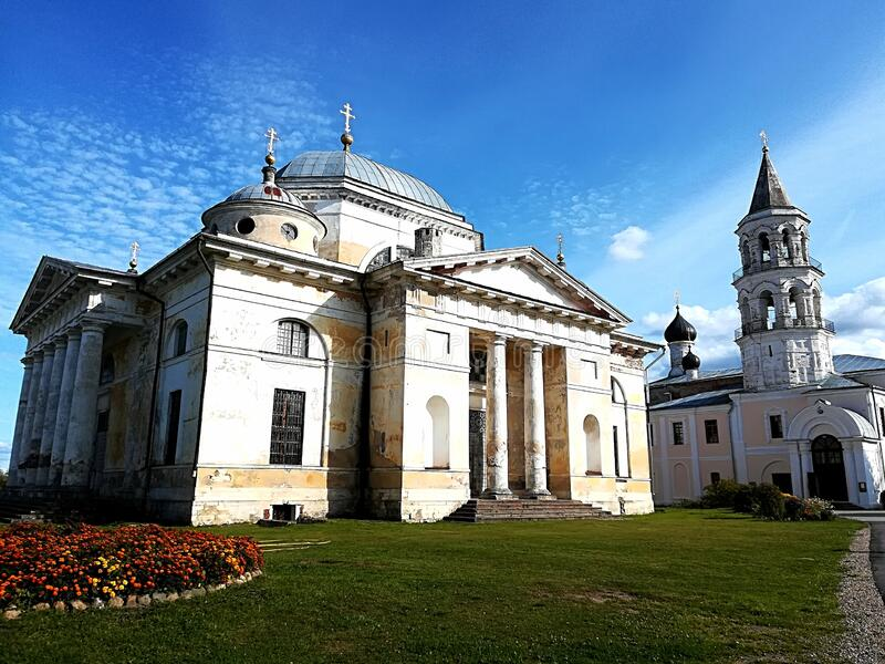 The oldest monastery in Russia. The City Of Torzhok. royalty free stock photos