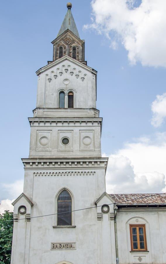 The Oldest Roman-Catholic Church named Baratia. The Oldest Roman-Catholic Church named Baratia from Bucharest, Romania stock photo