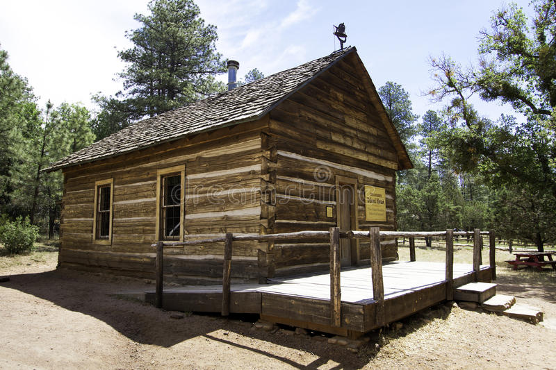 Oldest Standing Schoolhouse in Arizona royalty free stock photos