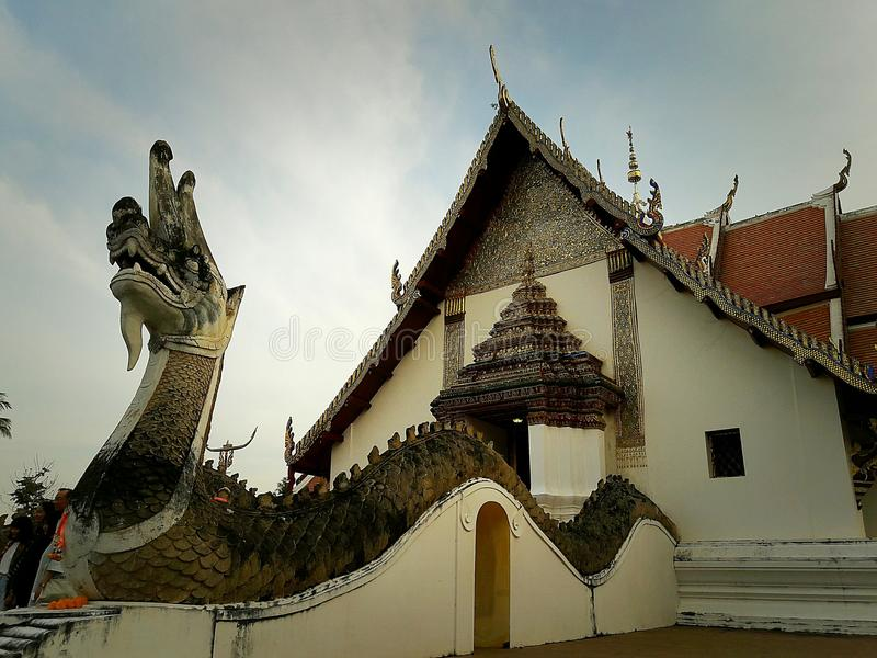 The oldest temple in Thailand royalty free stock photos