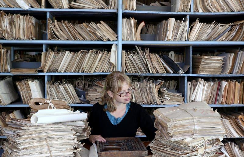 Oldfashioned офис стоковая фотография rf