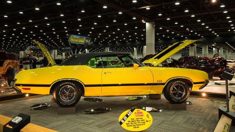 1970年Oldsmobile短箭4-4-2 免版税库存图片