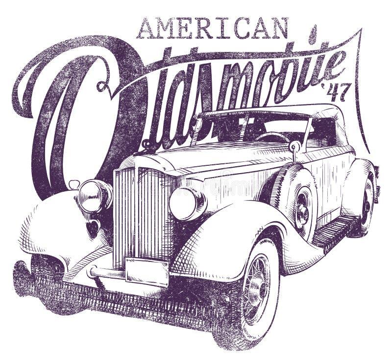 Oldsmobile иллюстрация штока