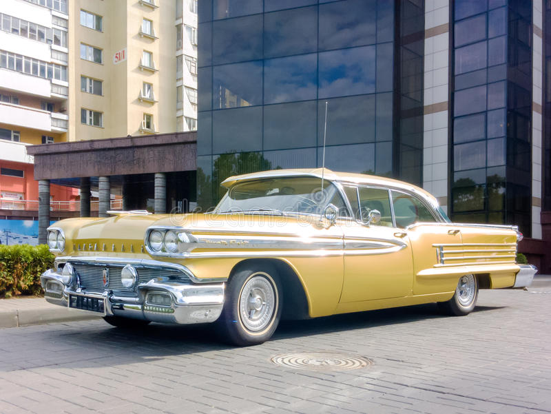 Oldsmobile 1958 foto de archivo