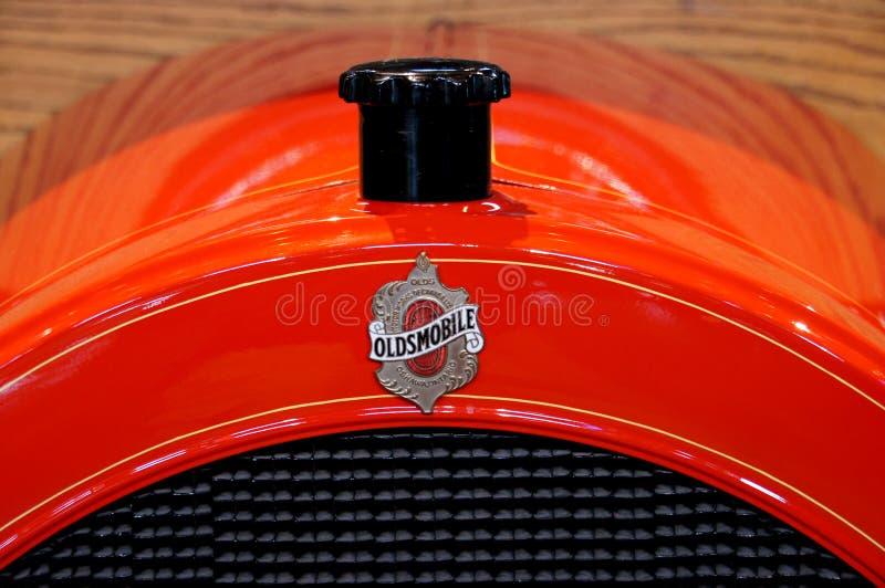 Download Oldsmobile. stock photo. Image of raidator, namebadge - 86217002