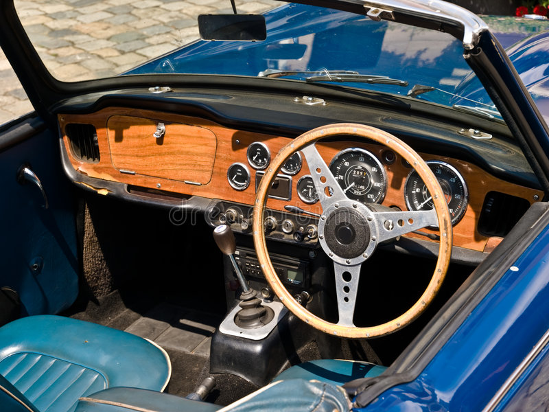 Download Oldtimer stock image. Image of curve, interior, restore - 6236815