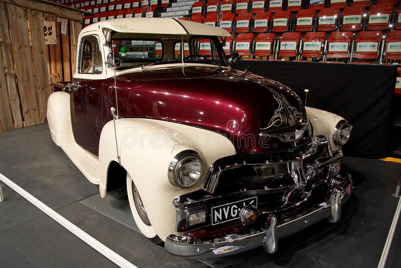 Oldtimer on car show