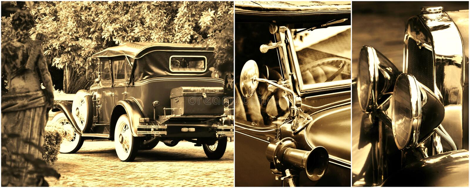 Download Oldtimer collage stock photo. Image of south, background - 32827190