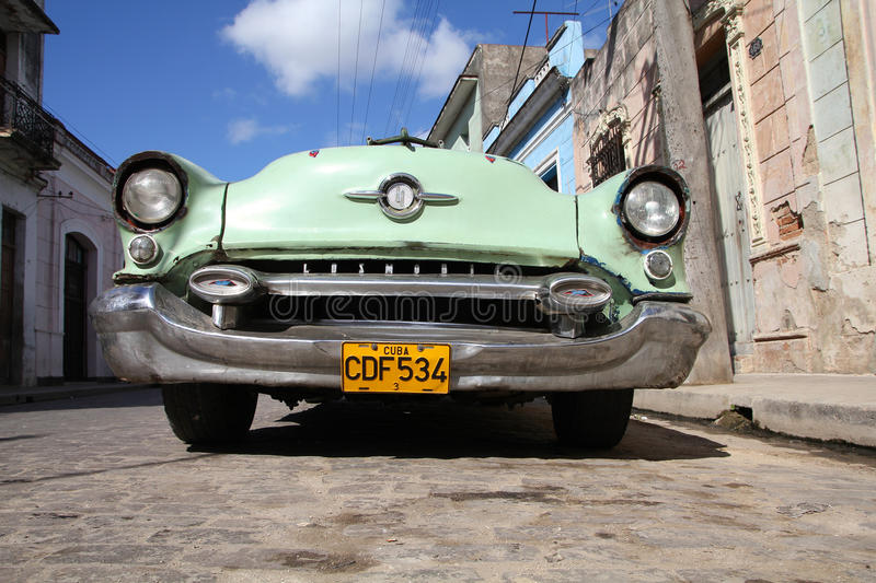Oldtimer in Cuba royalty free stock images