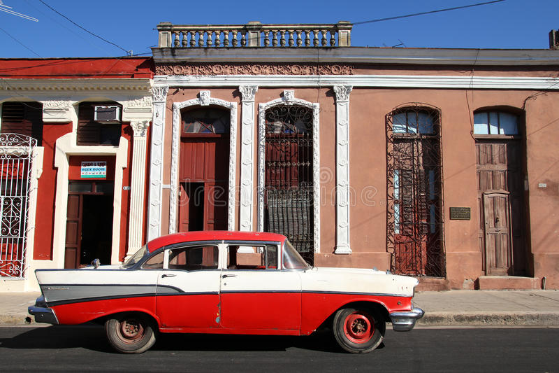 Oldtimer in Cuba royalty free stock photography