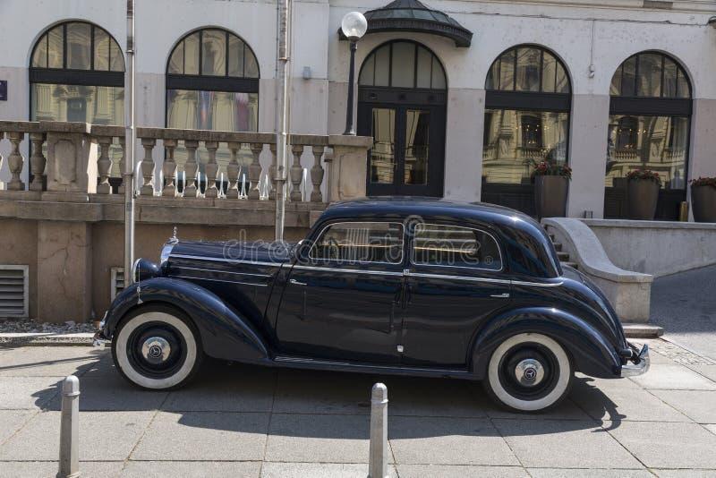 Oldtimer de Mercedes fotos de archivo