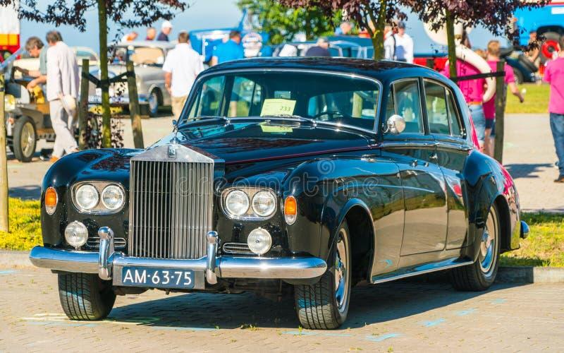Oldtimer de Rolls Royce foto de stock