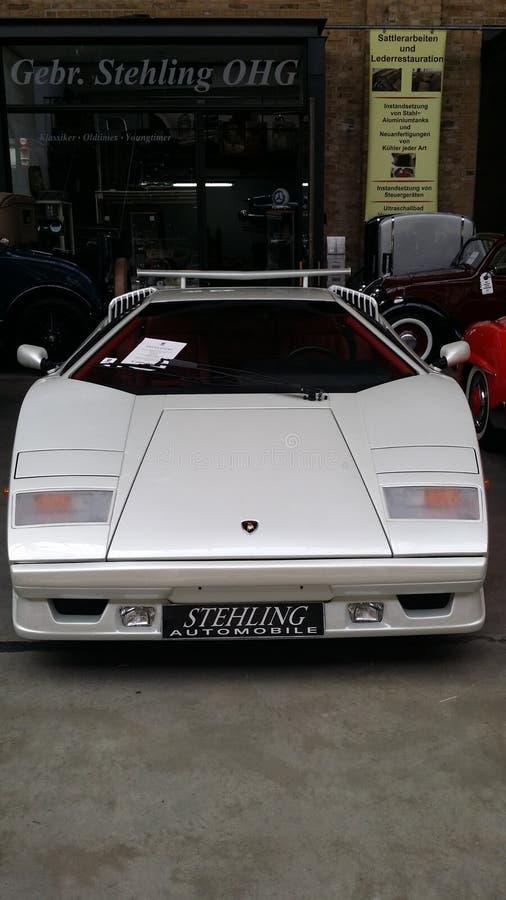 Oldtimer di Lamborghini immagine stock libera da diritti