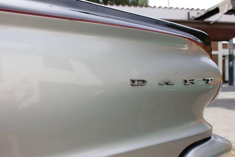 Oldtimer-Dodge-Pfeil lizenzfreie stockfotos