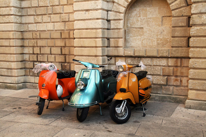 Oldtimer Vespa Editorial Stock Photo
