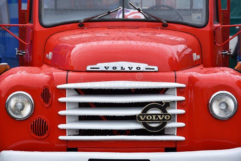 Oldtimer Volvo ciężarówka obrazy royalty free