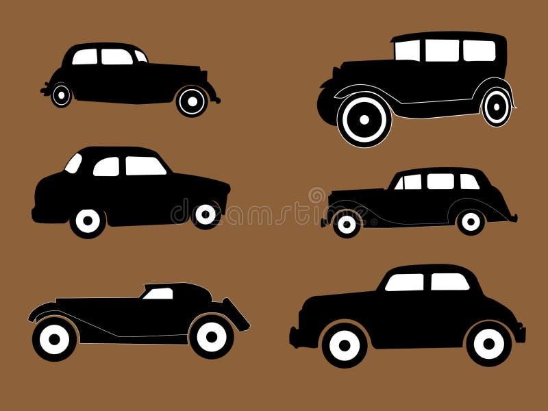 Download Oldtimers vektor abbildung. Illustration von vektor, auto - 9078526