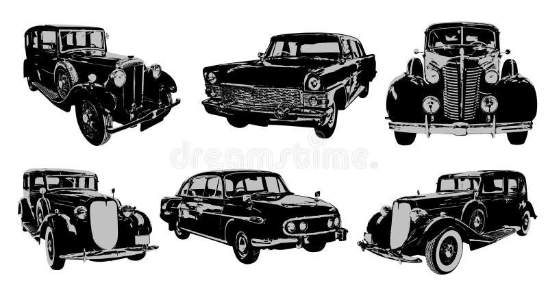 oldtimers illustration stock