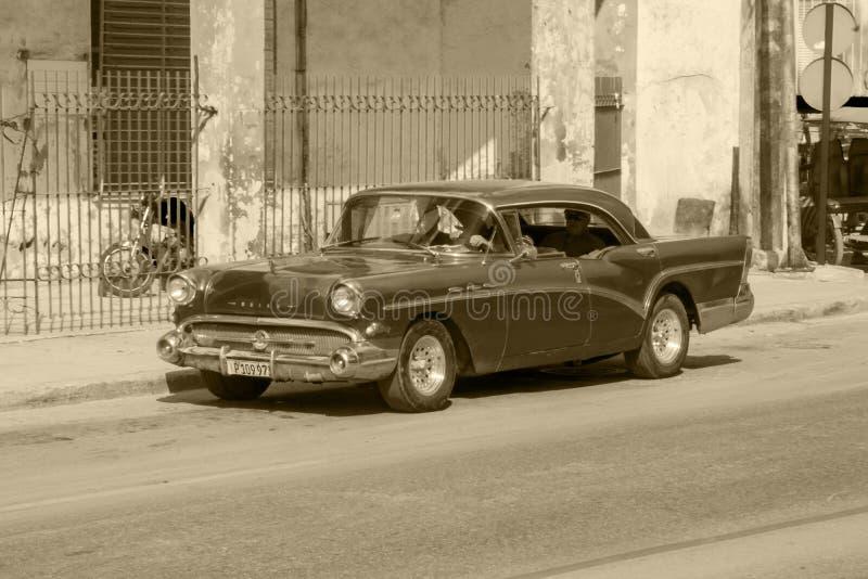 Oldtimers in Cuba fotografia stock libera da diritti