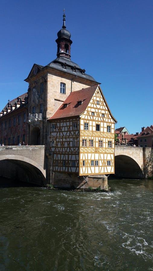Oldtown Bamberg fotografia royalty free