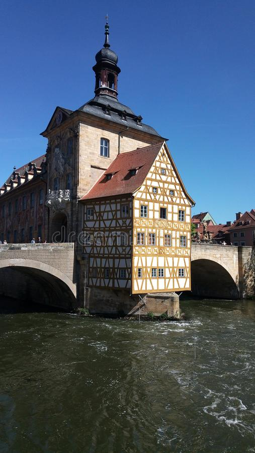Oldtown Bamberg royalty free stock photography