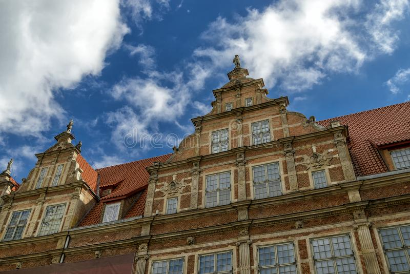 Oldtown de Gdansk no Polônia fotos de stock