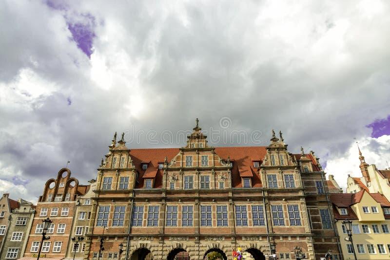 Oldtown de Gdansk no Polônia imagens de stock