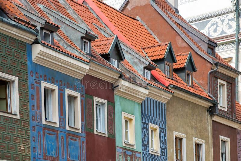 Oldtown in Poznan royalty-vrije stock fotografie