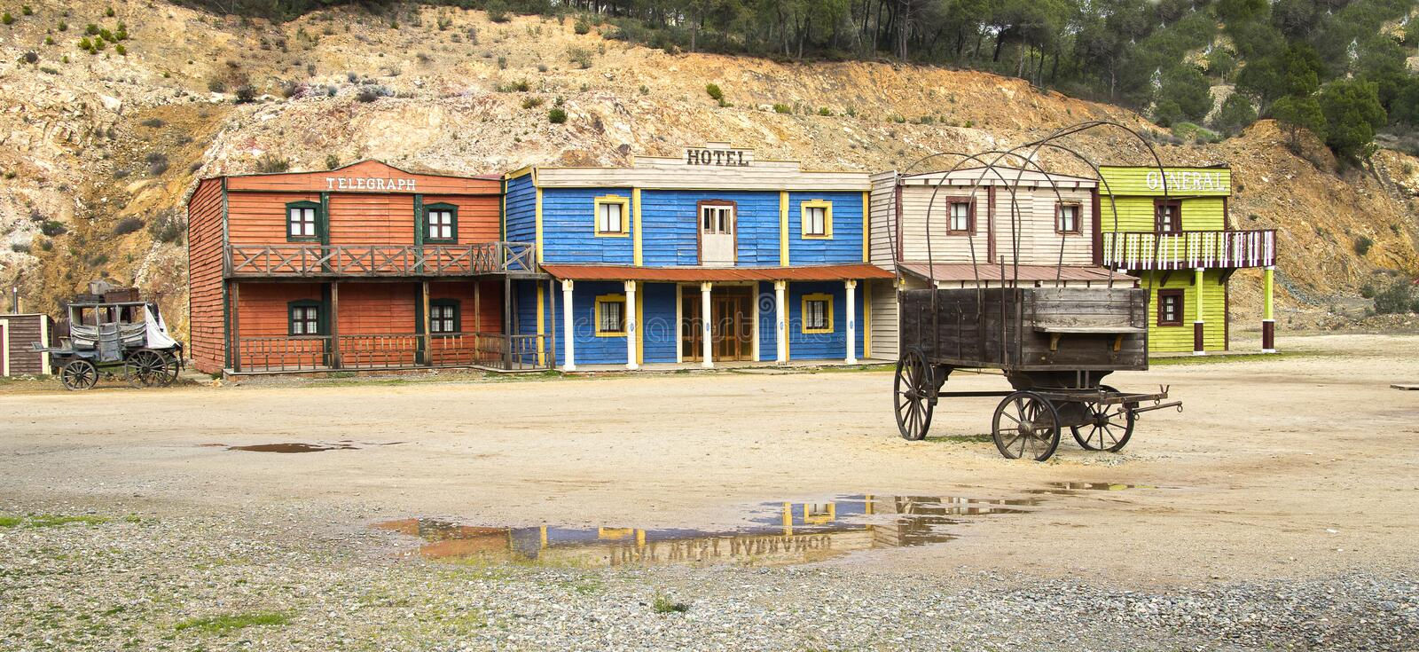Oldwest image stock