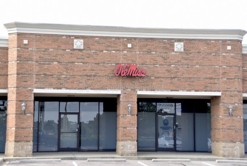 Ole Miss University Administrative Building, Southaven, ms imagenes de archivo