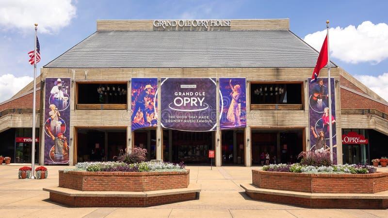 Ole Opry House magnífico en Nashville, Tennessee fotos de archivo
