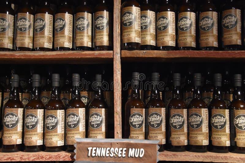 Ole Smoky Moonshine Holler in Gatlinburg, Tennessee fotografie stock