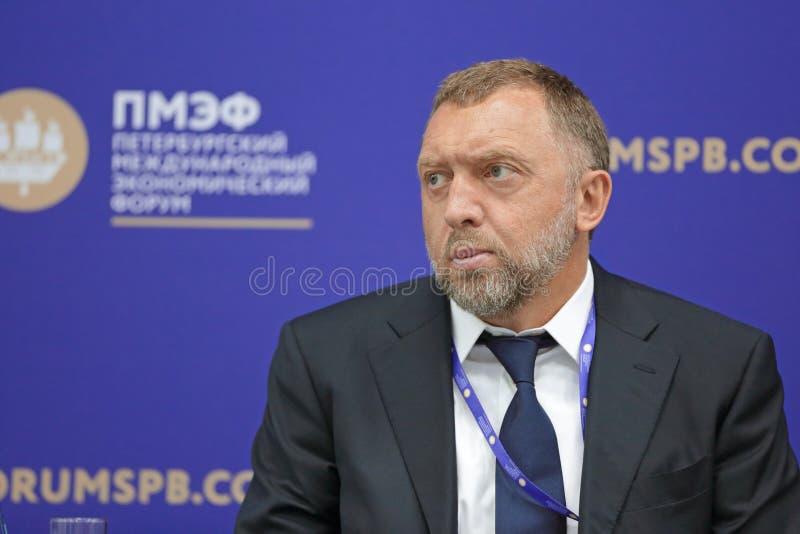 Oleg Deripaska photo stock