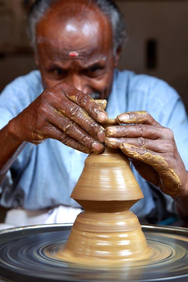 Oleiro indiano imagem de stock royalty free