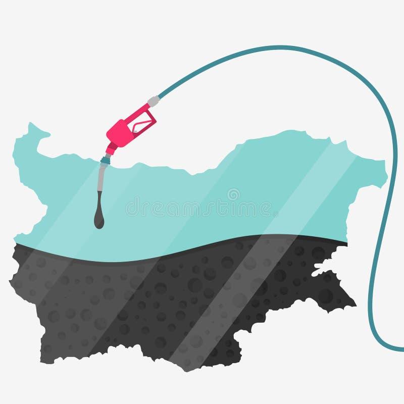 Olej Bułgaria ilustracji
