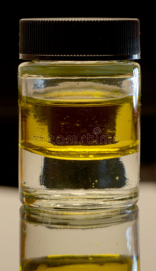 Olej i woda obrazy stock