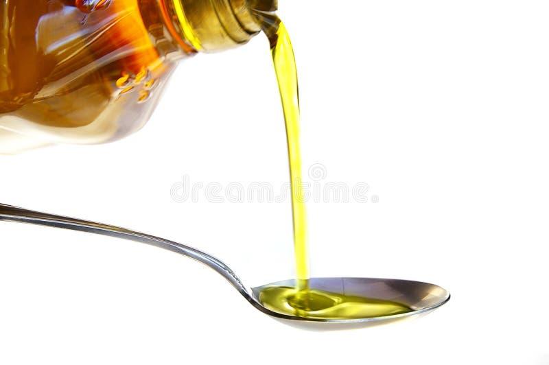 olej nalewa zdjęcie stock