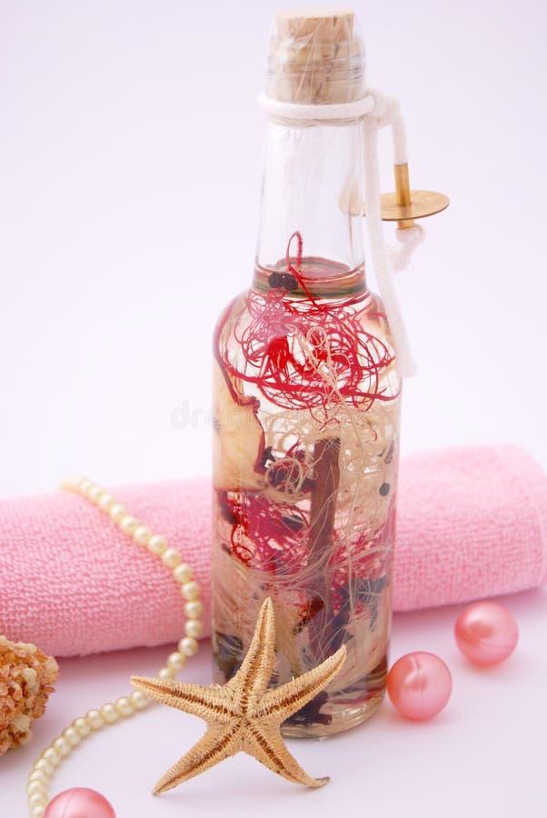 olejek kąpielowy. obrazy stock