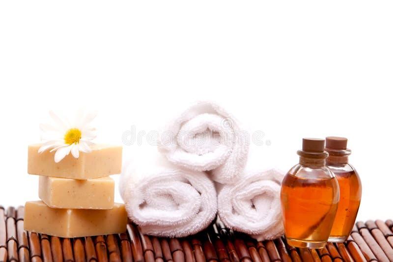 oleju aromatherapy zdrój zdjęcia stock