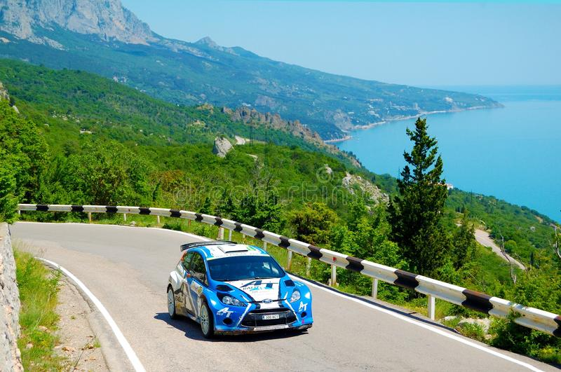Download Oleksiy Tamrazov On The IRC Prime Yalta Rally 2011 Editorial Stock Photo - Image: 19840243