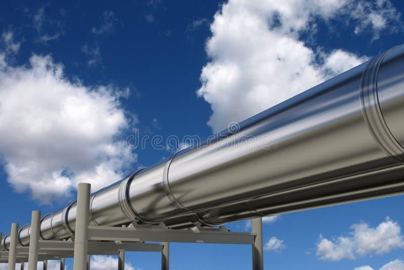 Oleoductos stock de ilustración