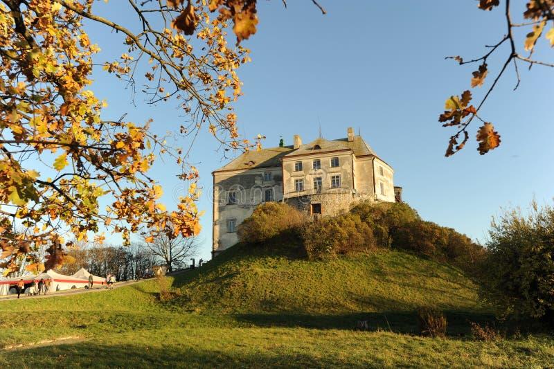 Olesko Castle stock images