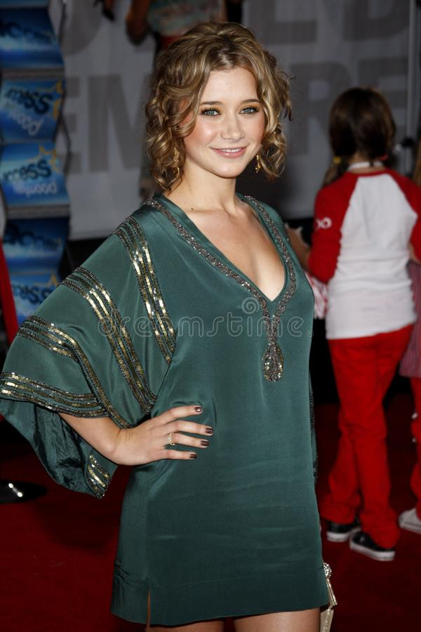 Olesya Rulin. At the Los Angeles premiere of `High School Musical 3: Senior Year` held at the Galen Center in Los Angeles, USA on October 16, 2008 royalty free stock images