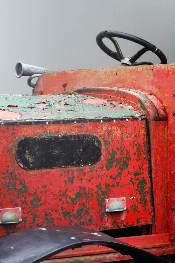 Olf塑造了拖拉机英国 库存图片
