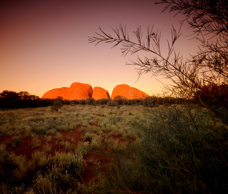 The Olgas Kata Tjuta stock photography